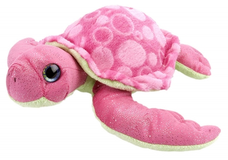Pink bubbly turtle