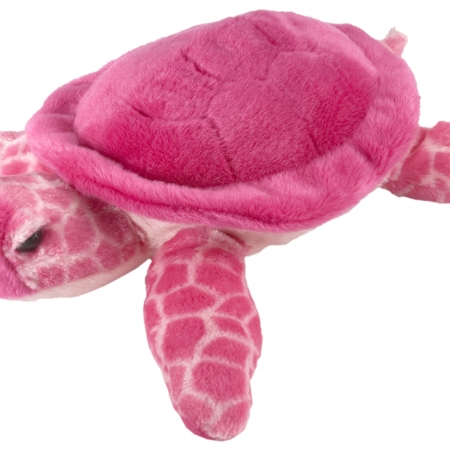 Pink turtle 12""