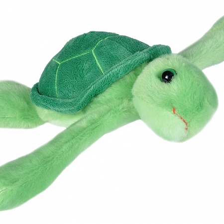 Huggable green turtle